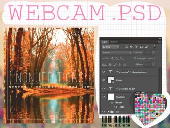 Webcam .PSD by Nonuu