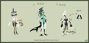 Humanoid Adopts 44 [Point Option Available] by Adopt-Monstar