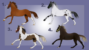 Horse Adopts! OPEN by SunnyAcreFarms