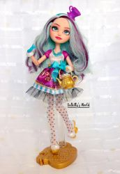 Madeline 'Maddie' Hatter - Repainted doll