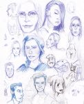 Faces 01 by Xyncomix