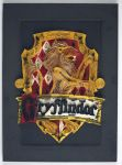 Paper Quilling Harry Potter House Crest-Gryffindor by wholedwarf