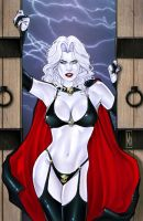 Lady Death Cover by MDiPascale