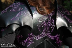 Leather back by AtelierFantastique