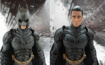 Batman custom closeup shots by Jedd-the-Jedi