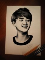 Do Kyungsoo (EXO) by miobitat