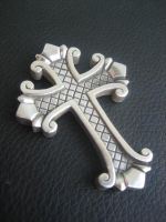 Sterling silver cross by flintlockprivateer