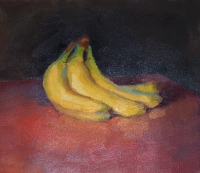 Banana study by Soirsce
