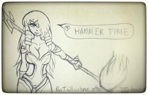Hammer time by ShaozChampion