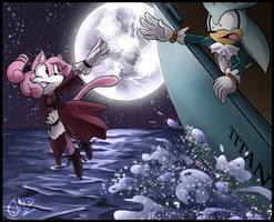 Kelly the Pink Panther in Titanic by JovialNightz