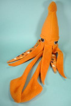 giant squid by sewingstars