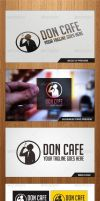Don Cafe Logo Template - Graphicriver by Changyik