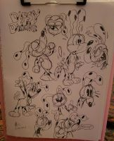Dipsy Diddle Dalmatian by spongefox