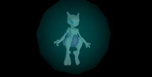 MMD Newcomer Mewtwo + DL by Valforwing