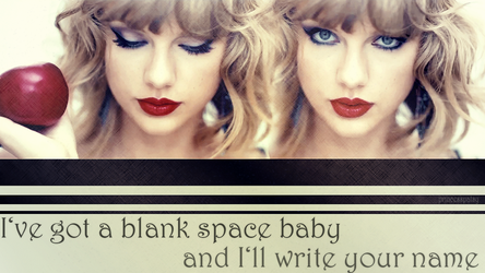 Blank Space - Taylor Swift by PrincessPatsy