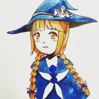 Wadanohara and the Great Blue Sea by rainbownote