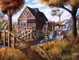 Watermill by Sylar113