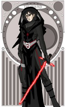 Kylo the Hound by Omega-Hux