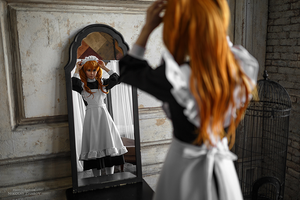 Asuka maid. Alternative home V by TaisiaFlyagina
