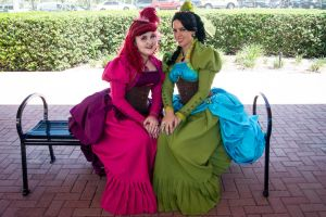 Drizella and Anastasia 2 by BlueeyesDante