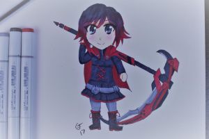 Ruby chibi by GlassesSenpai