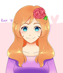 [Prize!] Rose for Trufflerux by pinktranquility