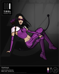 Trdl1618 Hawkeye Redesign by TRDLcomics