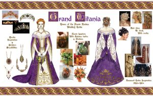 Grand Titania Wedding Gown Concept by BelovedUnderwing