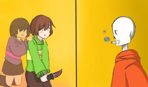 Genocide Underswap!Chara 2 by engchi