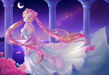 Princess Serenity [+ Speedpaint] by TanyaKi