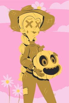 Mom-sters 2017: Queen Scarecrow by ChadRocco