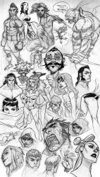 Super Sketch Dump by jeffwamester