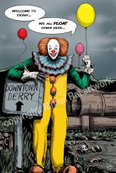 Pennywise - the guide of Derry by mrinal-rai