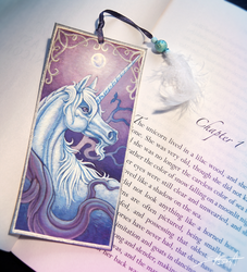 Unicorn Bookmark by TransparentGhost