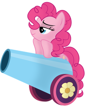 Pinkie Pie - Sweet Cannon by abydos91