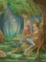 Forest Love by cybercortex