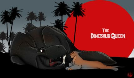 The Dinosaur Queen by dyb