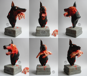 : zombie dog : by BastardPrince