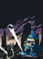 Mickey save Gotham by nathadario