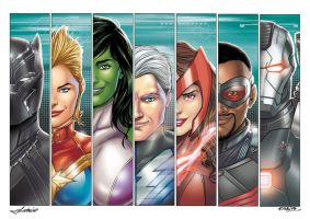 Avengers 2 by Mfiorito
