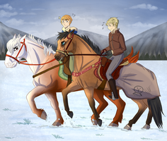 YKR  Dashin' Through The Snow   by ever-so-jAntly