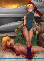 Cammy - Street Fighter by eduardosecolin