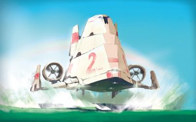 Vimana Hovership by joulester