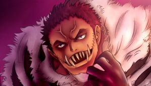 One Piece 883 - Charlotte Katakuri by Eyaririri