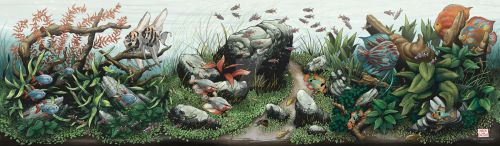 Conservatory of Flowers: Art of Aquascaping poster by aaronjohngregory
