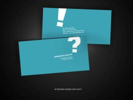 Personal business card by Dalash