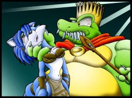 Krystal Vs King K Rool. by Virus-20