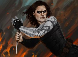 The Winter soldier by Giando1611990