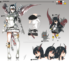 Maha Detailed Concept Sheet Full  SOLD by Asgard-Chronicles