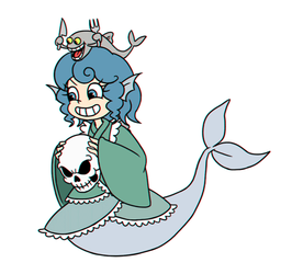 Wakasagihime gif by ssack11